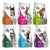 寵物家族-NULO紐樂芙-無穀高肉量貓飼料12LB