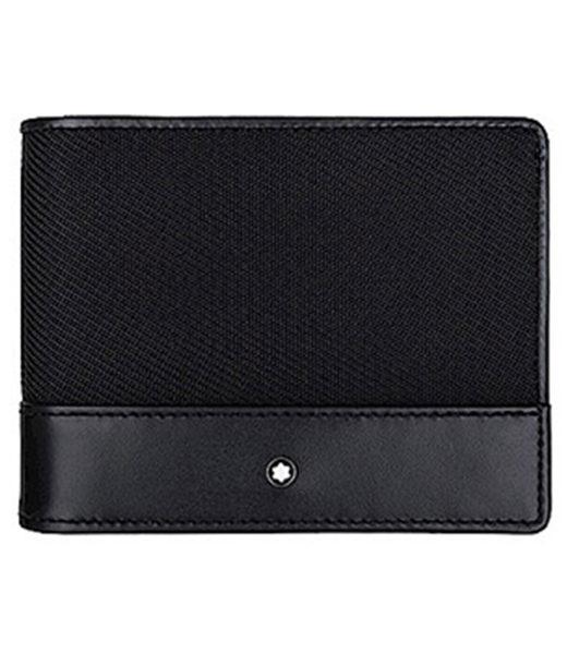 英國代購 MONTBLANC 萬寶龍 黑色 4卡鈔票夾短夾
