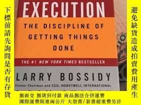 二手書博民逛書店Execution罕見The Discipline Of Getting Things Done執行完成任務的紀律