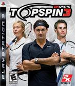 PS3 Top Spin 3 職業網球大聯盟 3(美版代購)