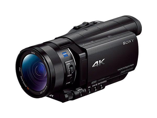 【震博】Sony FDR-AX100 4K攝影機(分期0利率;台灣索尼公司貨)送 原廠NP-FV100A電池