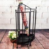 雨傘架 創意居家鐵藝 酒店家用收納架雨傘桶置物架JD CY潮流