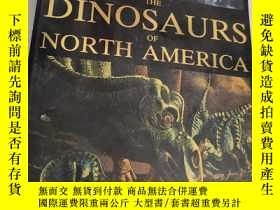 二手書博民逛書店An罕見Odyssey in Time : The Dinosaurs of North America【有兩頁掉