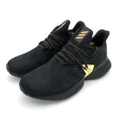 ISNEAKERS Adidas AlphaBounce Instinct 愛迪達 馬牌 鯊魚 全黑金色 Ef0867