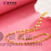 項鍊/首飾鎖骨鏈鍍金水波鏈飾品配飾女「歐洲站」