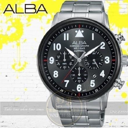 【南紡購物中心】ALBA 劉以豪代言Prestige極限潮流計時腕錶VD53-X256D/AT3A69X1公司貨