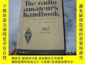 二手書博民逛書店The罕見radio amateur s handbook 19