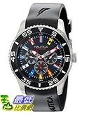 [美國直購]  Nautica Men's N12626G NST 07 Flags Classic Stainless Steel Watch 手錶