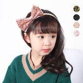 甜美亮片蝴蝶結髮箍 髪飾 兒童髮飾 頭飾