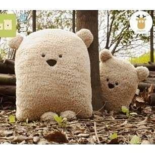【發現。好貨】可愛方熊抱枕 靠墊 汽車 靠墊 可配情侶款 小號