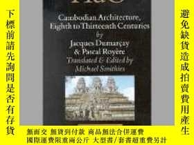 二手書博民逛書店Cambodian罕見Architecture, Eighth to Thirteenth Centuries