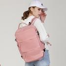 【Charm Beauty】大容量 雙肩包 女新款 短途 出差 旅行背包 可套 拉桿箱 輕便 多功能行李包 後背包