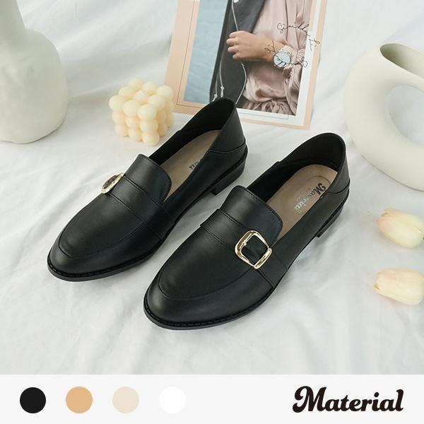 樂福鞋 簡約方扣樂福鞋 MA女鞋 T58812