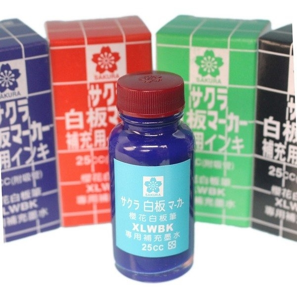 XLWBK 櫻花牌 白板筆補充水/一瓶入(定75) 白板筆補充液 白板水 日本製
