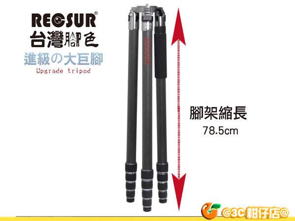 送吹球+拭鏡紙 RECSUR 銳攝 RS-282A 台腳16號 鋁合金 三腳架 可拆單腳 拍煙火 腳架 282 cm 英連公司貨