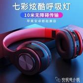 頭戴式藍芽耳機重低音游戲運動掛脖無線耳麥蘋果vivo華為oppo通用「安妮塔小鋪」