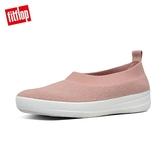 新降7哲【FitFlop】COMFFKNIT BALLERINAS 易穿脫舒適休閒娃鞋-女(裸膚粉)