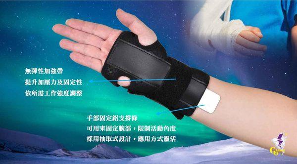 護腕 GoAround  透氣腕部固定護腕(1入) 醫療護具 托板手
