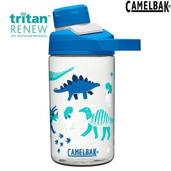 『VENUM旗艦店』Camelbak Chute Mag Kids 兒童戶外運動水瓶400ml Renew CB2492101041恐龍寶寶