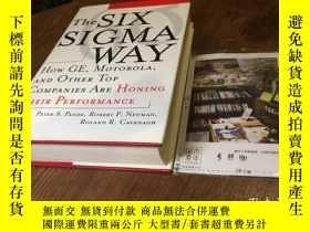 二手書博民逛書店英文原版罕見the six sigma way : how GE
