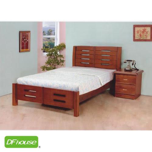 《DFhouse》妮可3.5尺實木床- 單人床 雙人床 床架 床組 實木 木藝床.