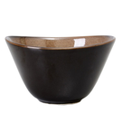 【Luzerne】陸升瓷器 Rustic 11.5cm 湯碗230ml-咖啡色 /RT3403011