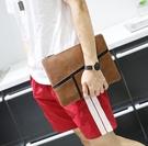 FINDSENSE Z1 韓國 時尚 潮 男 皮質 特色紋理 手拿包 手機包 手