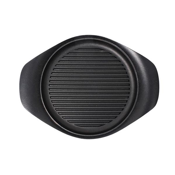 日本 Sori Yanagi Tekki Cast Iron Pan 柳宗理 南部鐵器系列 雙耳 橫紋煎盤(無附蓋)