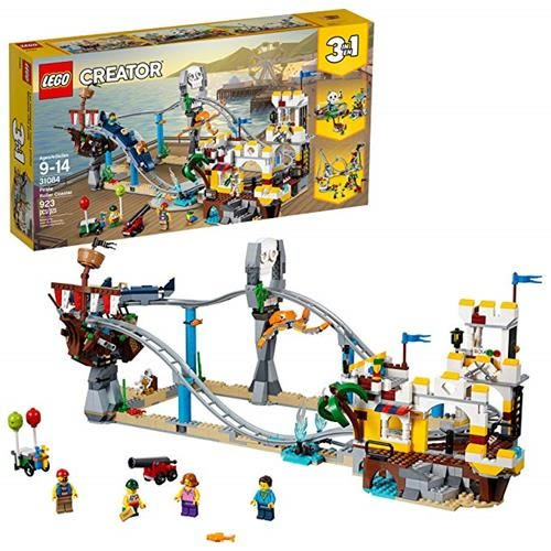 LEGO 樂高 Creator 3in1 Pirate Roller Coaster 31084 Building Kit (923 Piece)