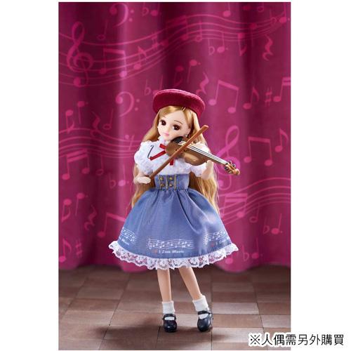 莉卡娃娃配件 LW-19 小提琴課程_LA14140