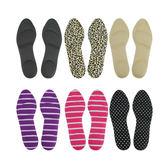 海棉3D/4D按摩足弓鞋墊(六色隨機出貨) ◆86小舖 ◆