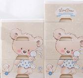 加厚大號收納箱塑膠抽屜式收納盒玩具兒童寶寶衣服儲物箱整理箱子 igo 露露日記
