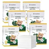 妙妙熊 乾濕兩用巾 80抽/6盒 平紋棉柔巾 紗布巾 護理巾 10037 口水巾