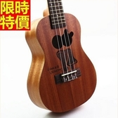 烏克麗麗ukulele-兔子圖案桃花心木合板23吋四弦琴樂器69x16[時尚巴黎]