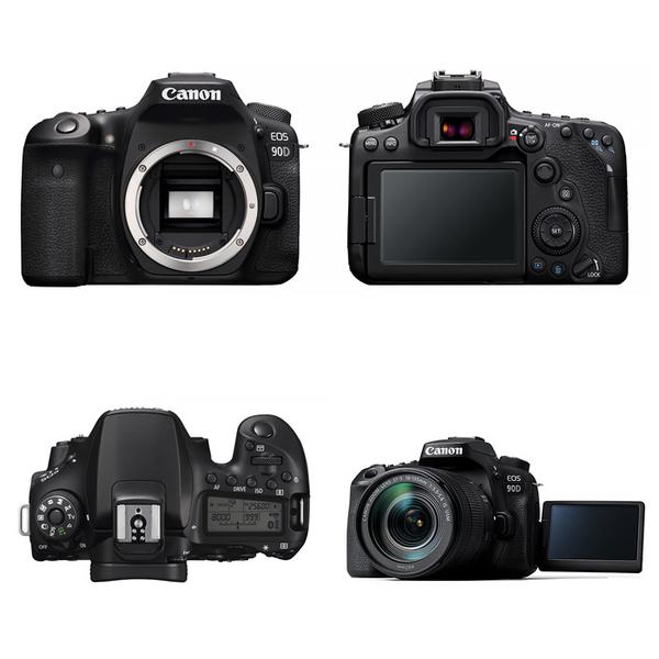 Canon EOS 90D Body〔單機身〕公司貨 登錄送背帶 11/30止