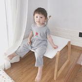 兒童睡衣 莫代爾套裝家居服二件套寶寶純棉空調服女童夏季薄款短袖【全館免運】