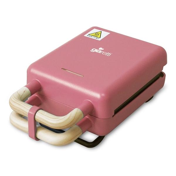 Giaretti吉爾瑞帝二合一熱壓三明治鬆餅機 GT-SW01玫瑰粉
