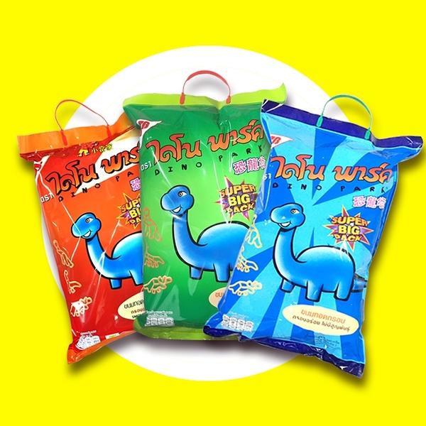 泰國 SB 恐龍造型餅乾 烤蝦/海鮮/墨魚 300g (6入/袋) 餅乾 造型 零食 可愛 只能宅配