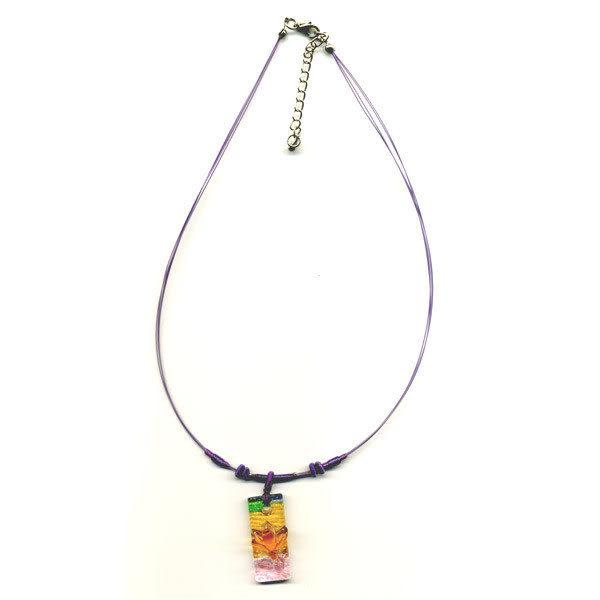 鹿港窯~居家開運水晶琉璃項鍊~玉樹臨風 附精美包裝 ◆免運費送到家◆