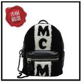 MCM羔羊毛後背包二手商品