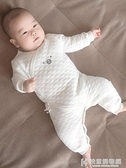 嬰兒衣服系列 新生嬰兒衣服秋冬純棉保暖睡衣初生男女寶寶連身衣秋冬裝加厚哈衣 快意購物網
