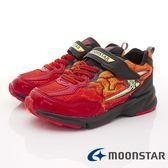 【MOONSTAR】日本月星頂級競速童鞋 閃電3E運動系列  SSJ8612紅(中大童段)-N