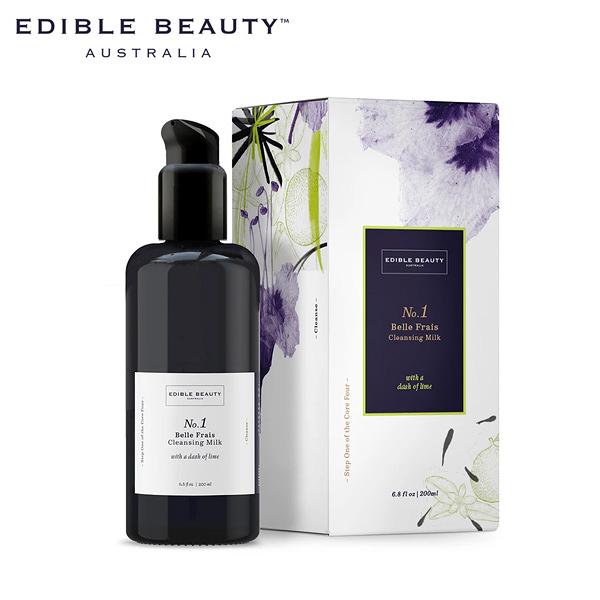 EDIBLE BEAUTY No.1 椰香溫和淨顏潔面霜 200ml - WBK SHOP