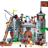 兒童益智拼插樂高積木軍事城堡拼裝玩具禮物【時尚大衣櫥】