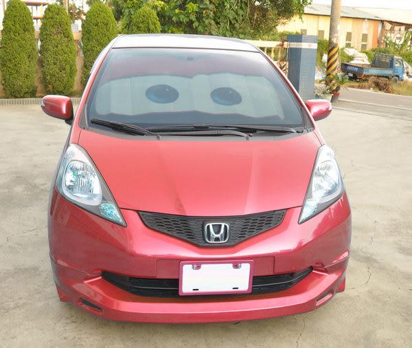 【日本NAPOLEX】汽車總動員 Cars2 前檔遮陽簾/遮陽板(紅色)