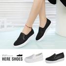 [Here Shoes]時尚精緻水鑽三角...