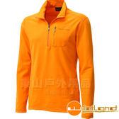 Wildland 荒野 0A12602-76亮橘色 男 彈性銀離子保暖上衣