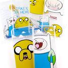 Adventure time 探險活寶 iPhone 6 Plus/6s Plus 可愛透明彩繪保護軟套-主角系列