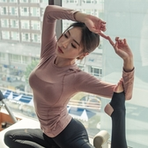 健身身服運動上身女跑步短袖T恤緊身罩衫速干長袖訓練瑜伽房服女