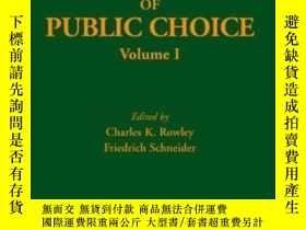 二手書博民逛書店The罕見Encyclopedia Of Public Choice-公共選擇百科全書Y436638 Char